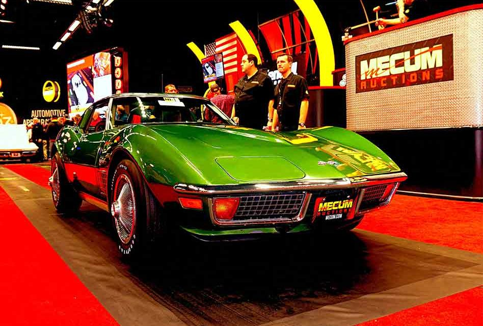 Mecum Auto Auctions, the world's largest collector car auction, coming to Kissimmee Jan. 2-20, 2020