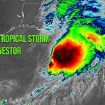 It's NHC-official: Tropical Storm Nestor bearing down on Florida