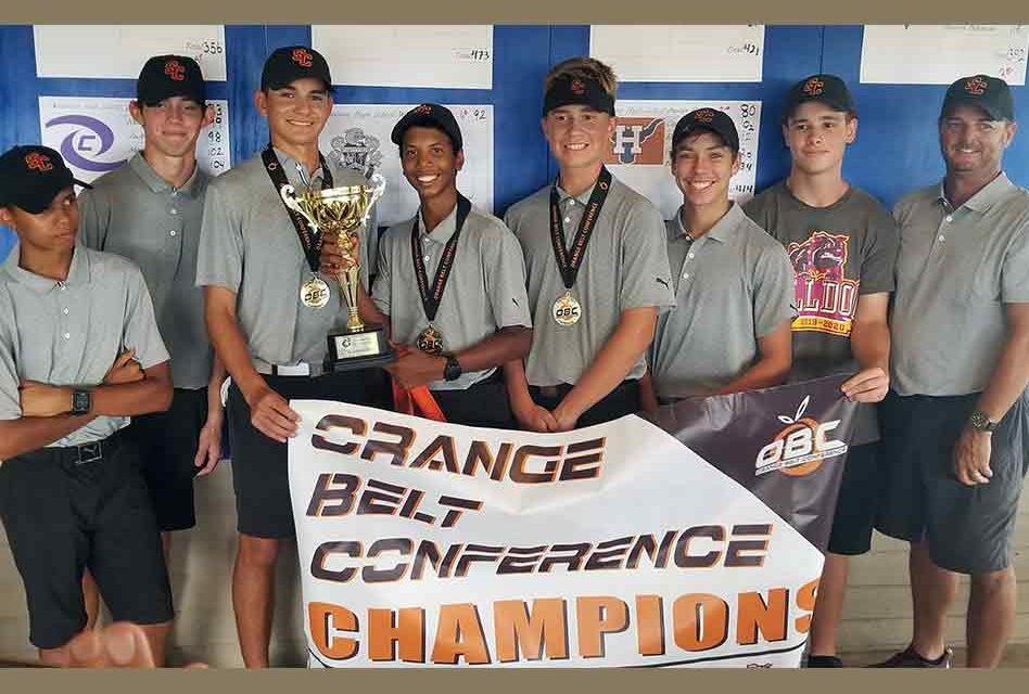 St. Cloud completes sweep and wins boys Orange Belt Conference golf title; Bulldogs' Hernandez wins in playoff