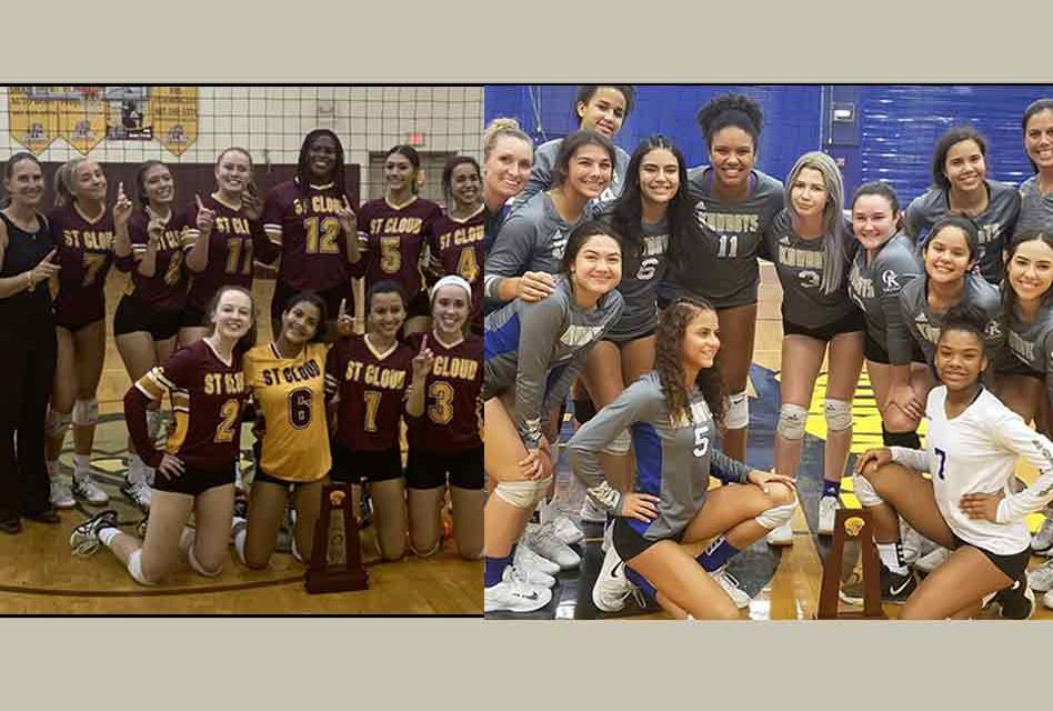 Osceola, St. Cloud are district volleyball champions and will host playoff matches Wednesday