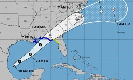Tropical depression or Nestor about to form in Gulf, headed for Panhandle; we'll get rain