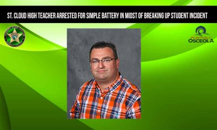 St. Cloud High teacher arrested for simple battery in midst of breaking up student incident