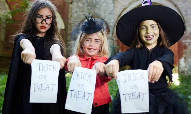 Here are some tips to keep your trick-or-treating creatures of the night safe on Halloween