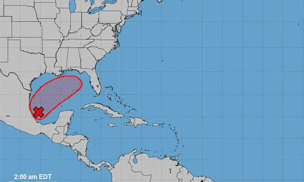 Tropical system continues to develop with a projected path towards Florida