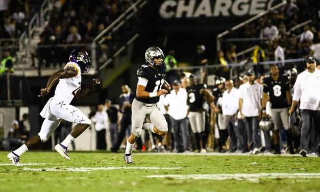 Despite second half stumbles, UCF wins again at home over East Carolina, 41-28