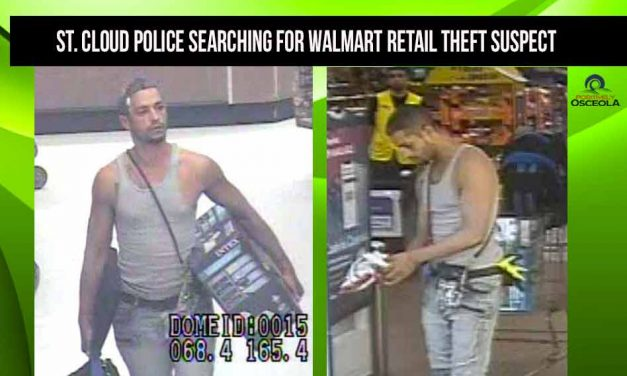 St. Cloud Police requesting the public's help in identifying man accused of stealing from St. Cloud Walmart