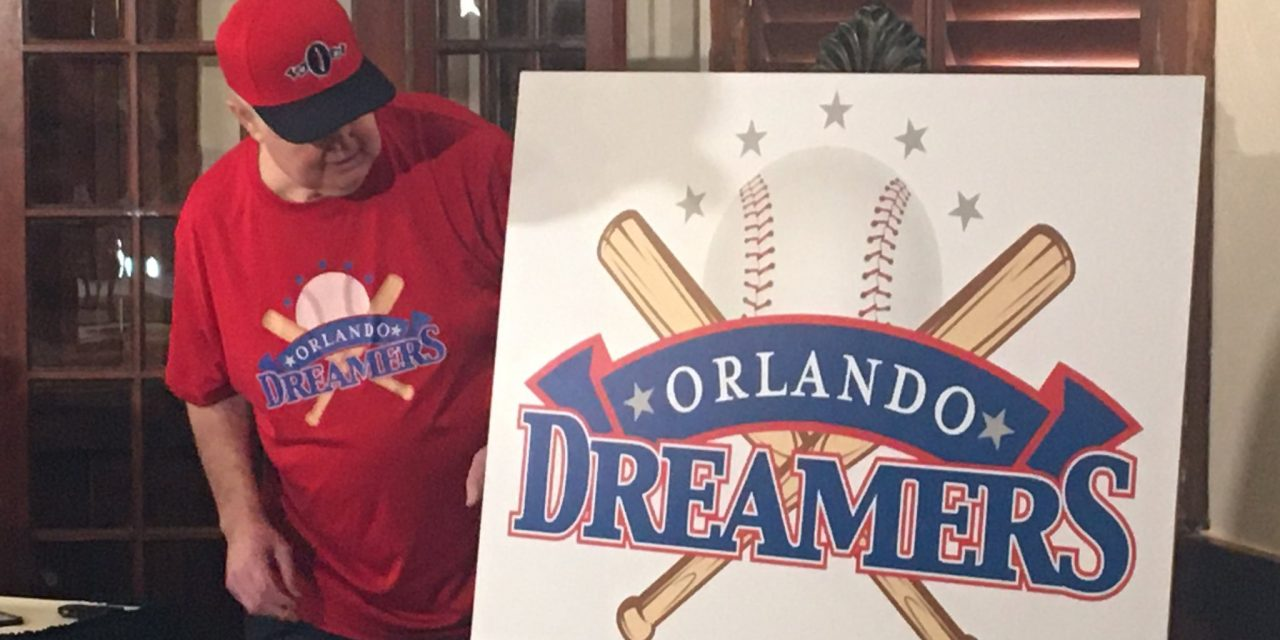 If you share a dream of Major League Baseball in Central Florida, let Pat Williams know