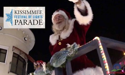 Candy Land at Christmas in Kissimmee — time to register for the Festival of Lights Parade