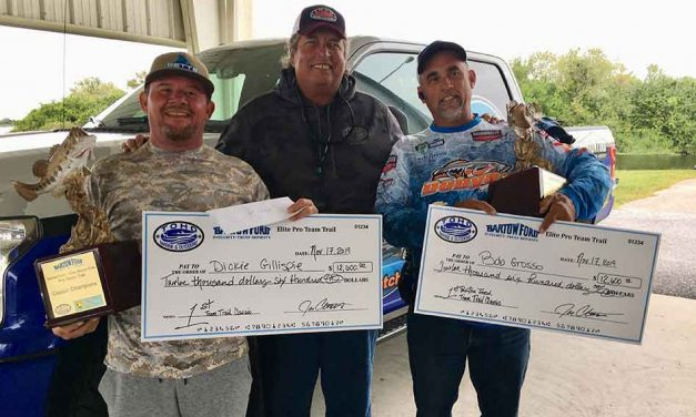 96 anglers compete in 2nd annual Elite Pro Team Trail Classic Tournament