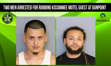 Two men arrested for robbing Kissimmee motel guest at gunpoint, deputies say