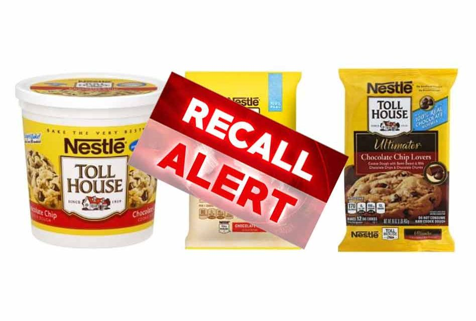 Nestle Recalls Ready To Bake Cookie Dough After Rubber Found In Products