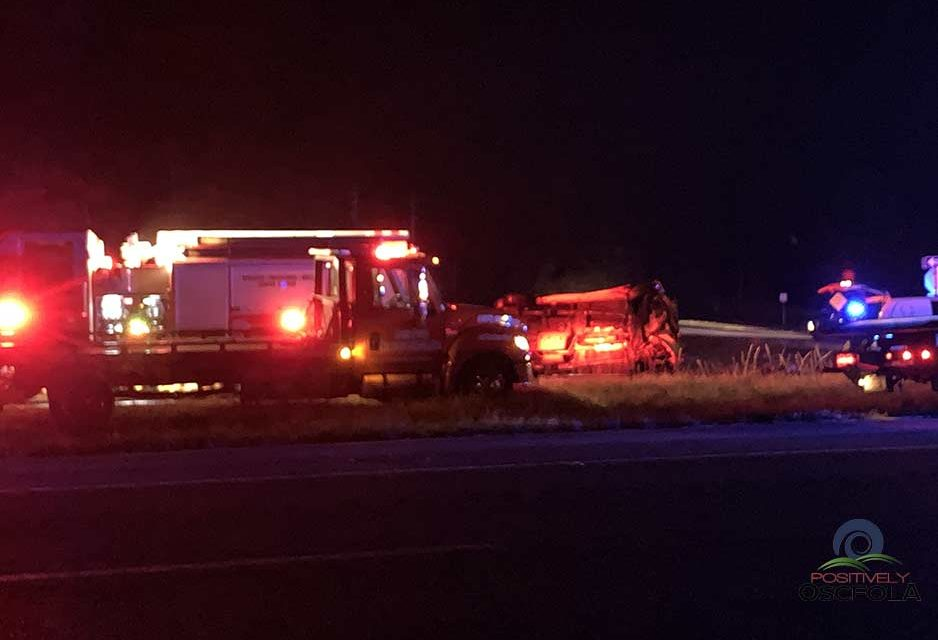 St. Cloud woman and man killed, another man critically injured in car crash in Osceola County Wednesday night