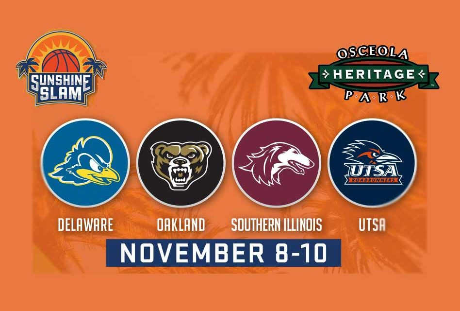 Sunshine Slam Division I college basketball comes to Osceola Heritage Park in Kissimmee next weekend