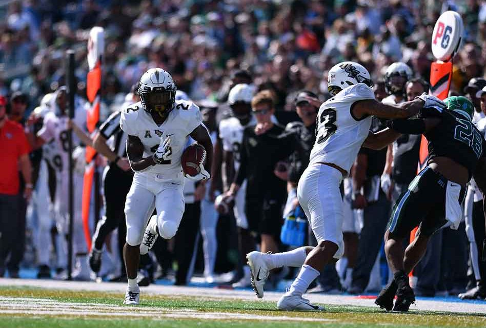 Gabriel and Anderson's legs lift UCF to 34-31 win at Tulane