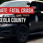 UPDATED: Fatal Crash in Osceola leaves one driver dead, one in serious condition, FHP says
