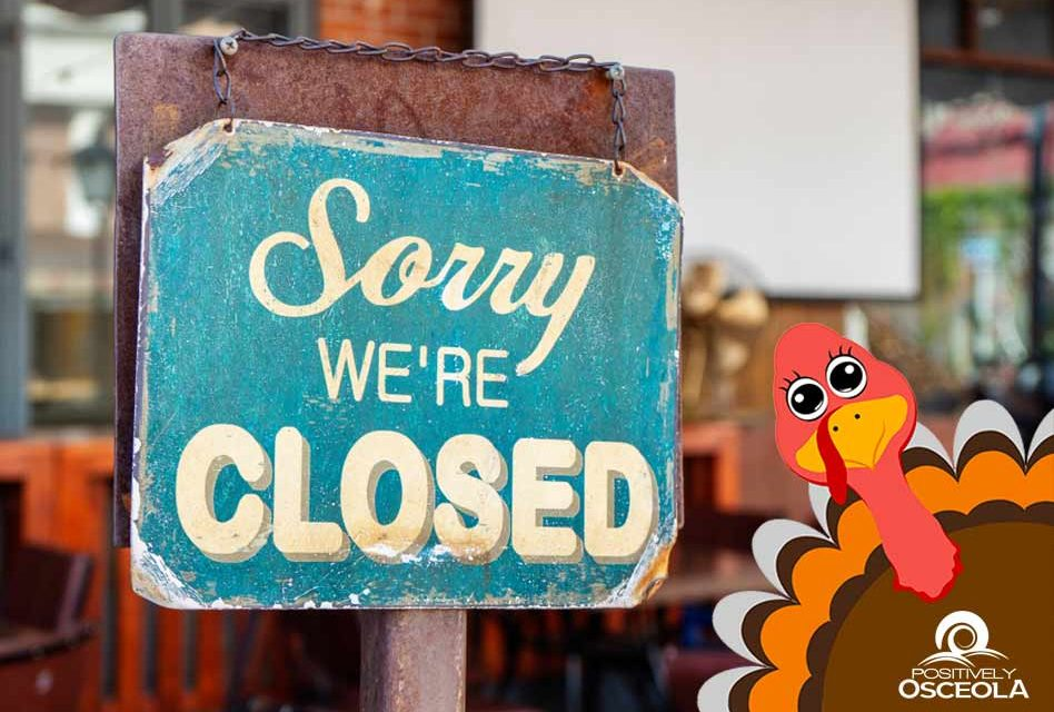 Major retailers that are closed on Thanksgiving Day