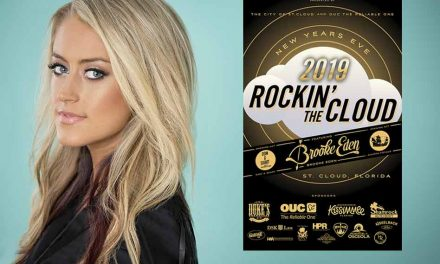 Country star Brooke Eden headlines 4th Rockin' the Cloud New Year's Eve bash