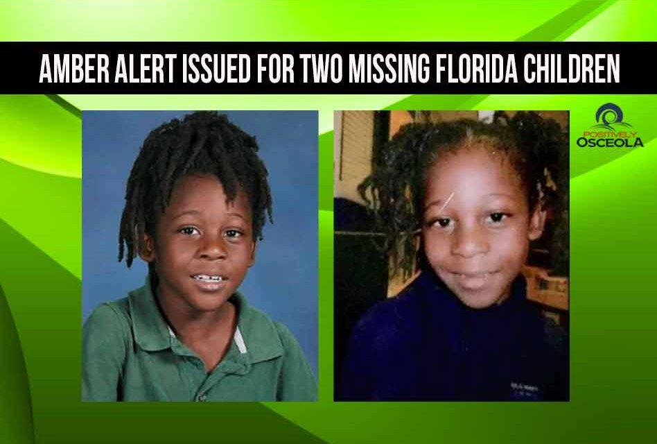 Amber Alert issued for two missing Florida children