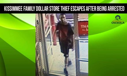 Osceola Deputies searching for Kissimmee Family Dollar Store thief who escaped after being arrested