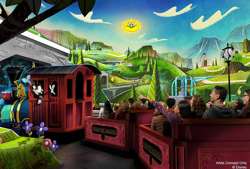 Disney's Hollywood Studios to open Mickey & Minnie's Runaway Railway March 4, 2020
