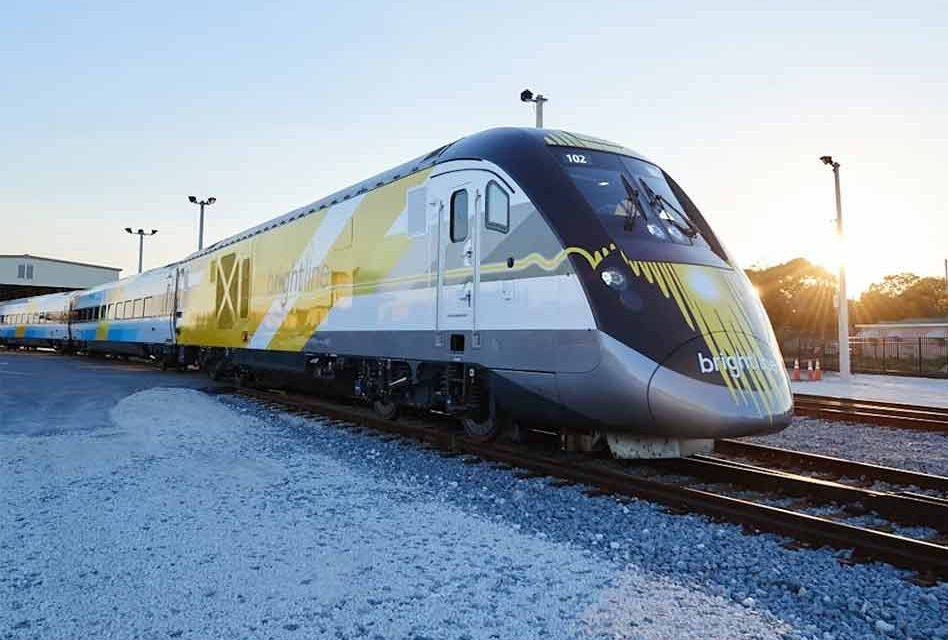 Virgin Trains USA's  high-speed train to move people from Miami to Orlando by 2022.