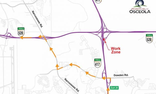 Traffic Alert: Nightly ramp closures at SR 417 and SR 528 Interchange