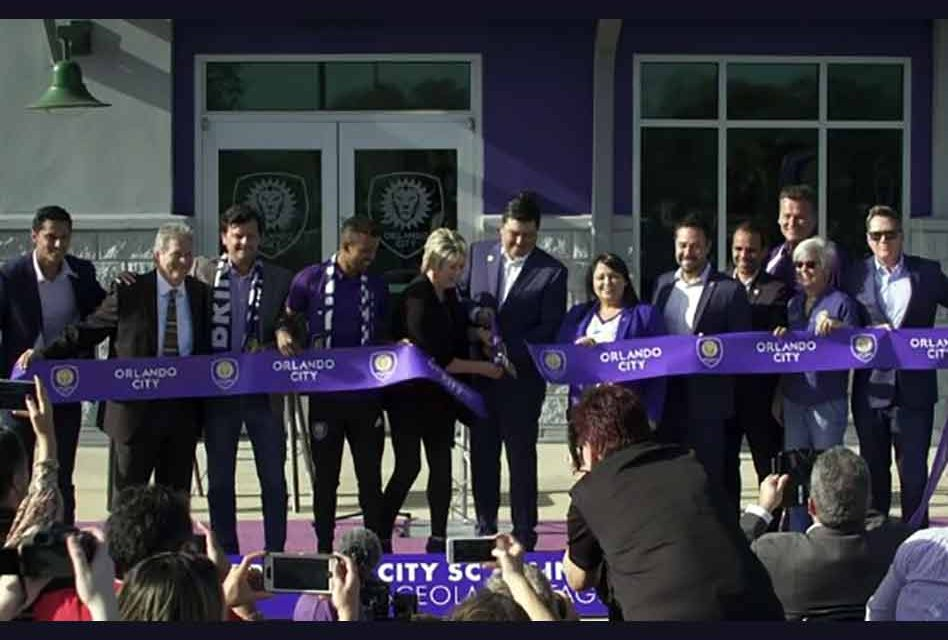 Orlando City Soccer officially opens Osceola Heritage Park training facility in Kissimmee