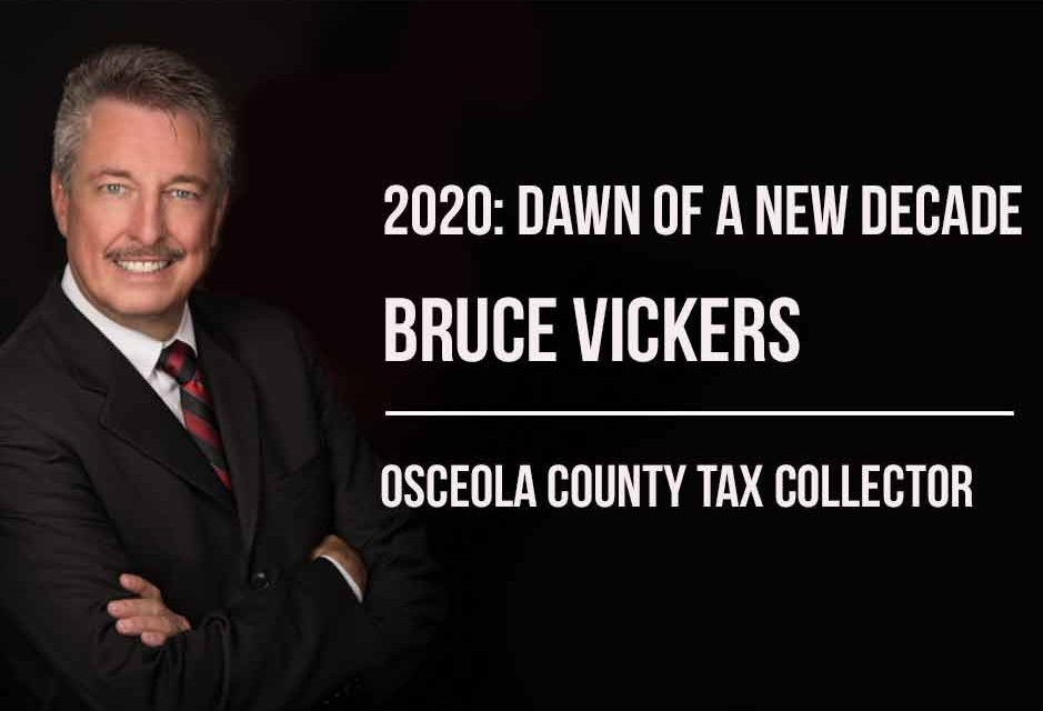 2020, Dawn of a New Decade — Bruce Vickers' office tasked with collecting county's tax revenue
