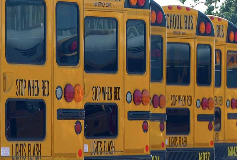 Kiddos are back in schools today: watch for buses, walkers, bicyclists