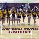 Bulldogs unveil Coach Mac Court, celebrate Senior Night … and beat OHS, 67-56
