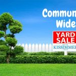 City of Kissimmee's Parks & Rec. Department to Host Community Yard Sale
