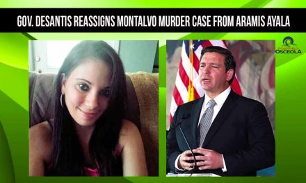 Gov. DeSantis reassigns Montalvo murder case from Aramis Ayala to Brad King