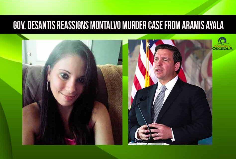Gov. DeSantis reassigns Montalvo murder case from Aramis Ayala to Brad King
