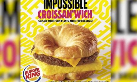 Burger King adds Impossible Croissan'wich to plant-based meat menu
