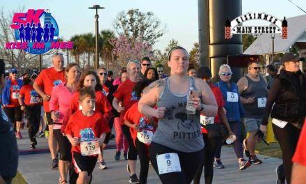 Kissimmee Main Street's Annual Kissimmee 5K,  it's all about hearts — and your heart