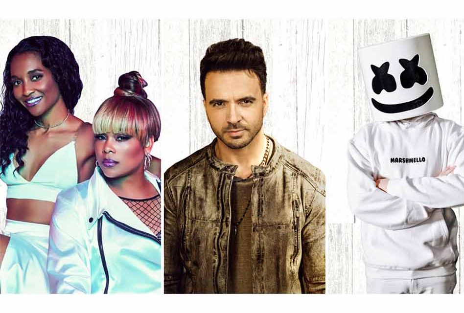Marshmello, Luis Fonsi, TLC and more to perform LIVE at Universal Orlando Resort's 2020 Mardi Gras