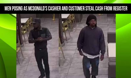 Men posing as McDonald's cashier and customer steal cash from register