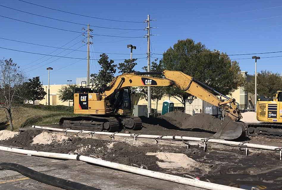 Old Canoe Creek Road repair continues in St. Cloud