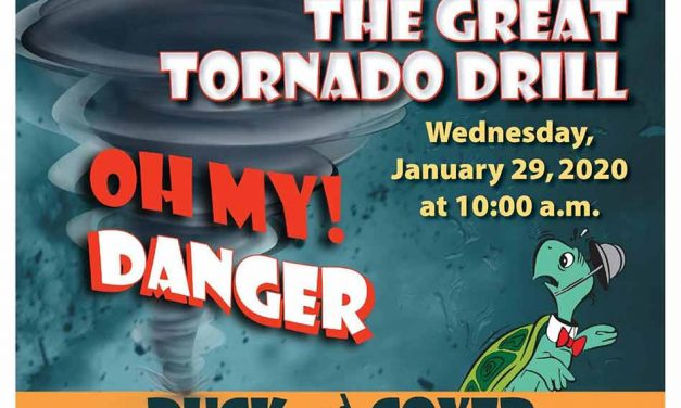 Take part in Osceola County's Great Tornado Drill today at 10 a.m.