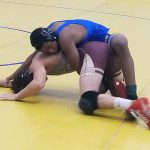 Wrestlers Jaekus Hines, Nolin Eaddy reach finals of Knockout Christmas Classic