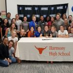 Harmony's Casey Clough earns cheerleading scholarship to Warner University