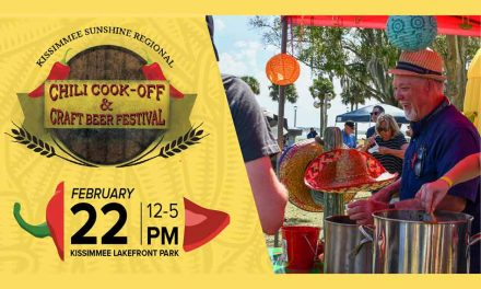 Sunshine Regional Chili Cook-Off and Beer Festival back at Kissimmee Lakefront Feb. 22