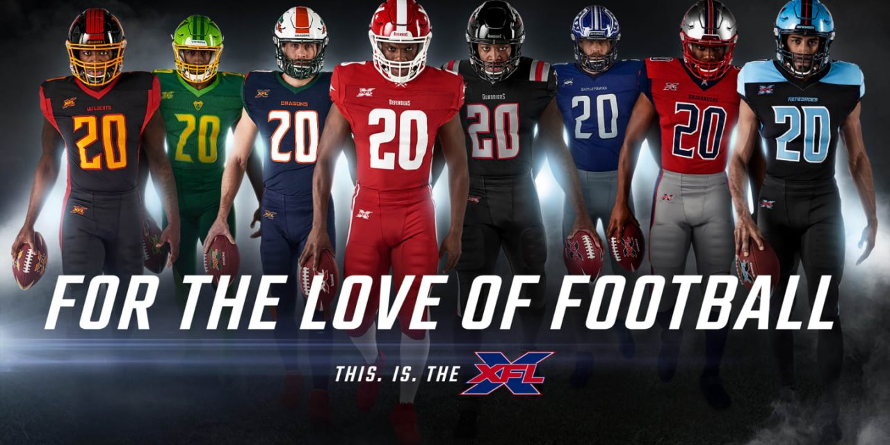 Football season over? Not so fast! The XFL is back this weekend!