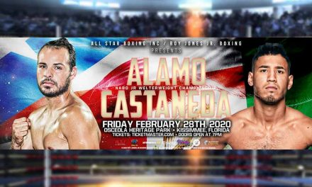 Matchup of unbeaten Alamo & Casteneda highlights All-Star Boxing Feb. 28 at Osceola Heritage Park
