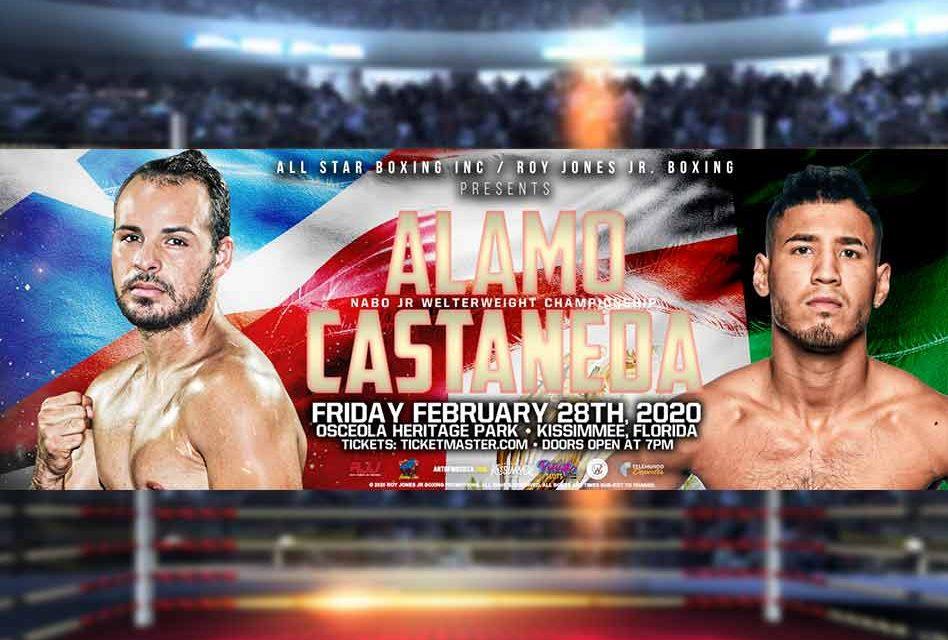 Matchup of unbeaten Alamo & Casteneda highlights All-Star Boxing Feb. 28 at Osceola Heritage Park