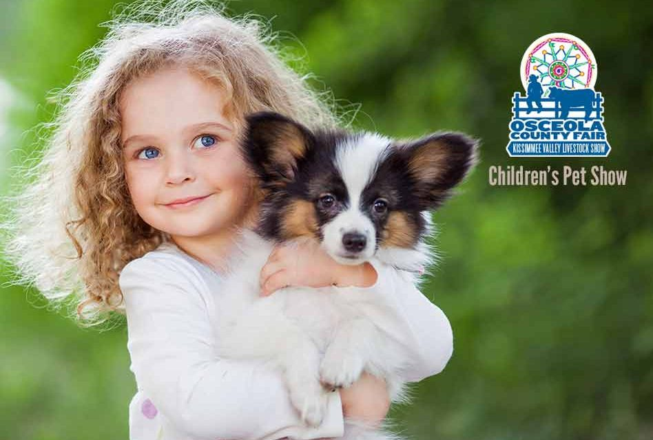 Come see county kids' best pets at Children's Pet Show at Osceola County Fair Feb. 23