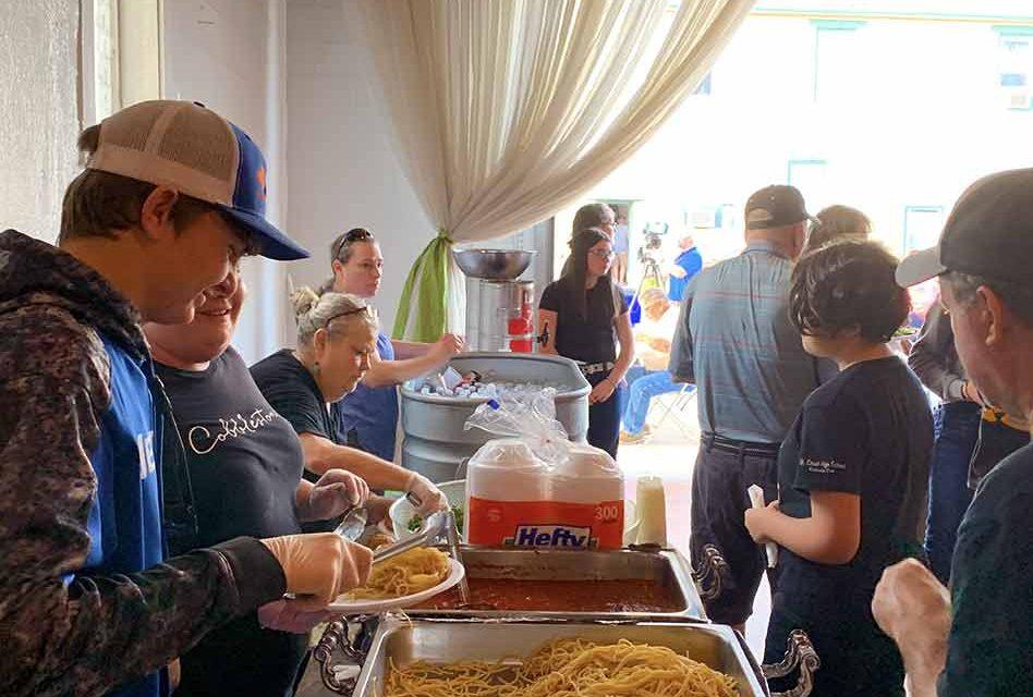 Cobblestone spaghetti benefit for St. Cloud fire victims raises nearly $6,000