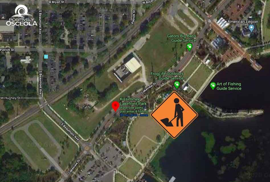 City of Kissimmee to close part of Lakeshore Blvd. for 2 weeks for sewer work