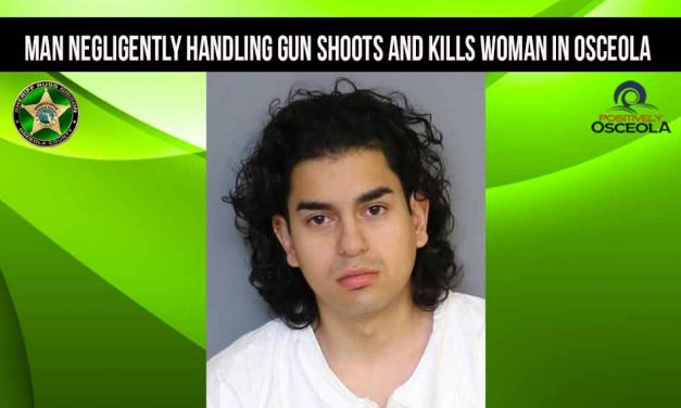Man negligently handling gun shoots and kills woman in Osceola, deputies say