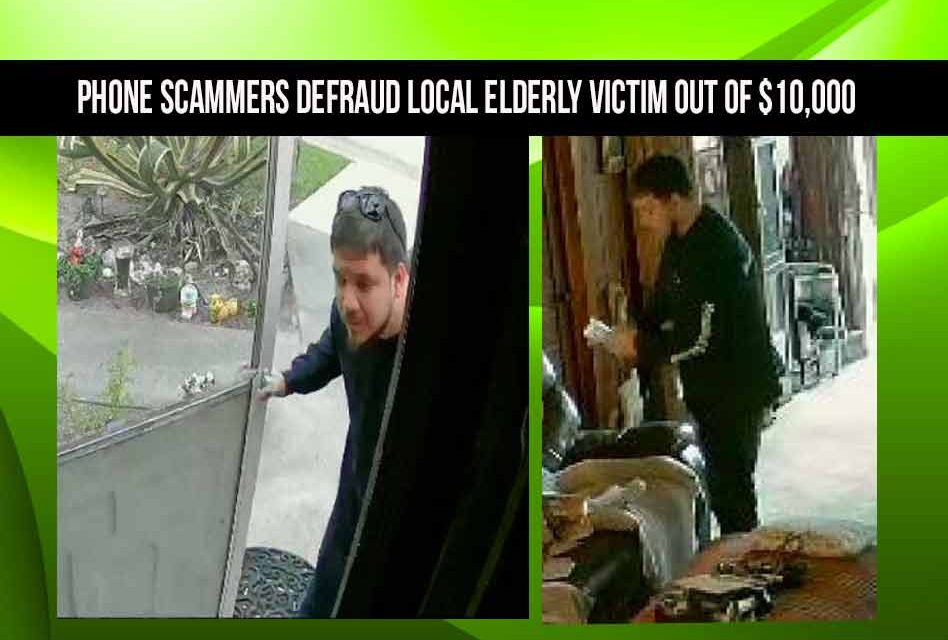 Sheriff's Office searching for phone scammers who defrauded local elderly victim out of $10,000